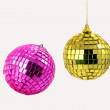 Pink and gold sphere — Stock Photo
