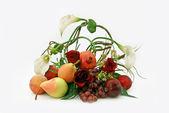 Ikebana z owoców — Zdjęcie stockowe