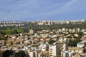 Kind on the city of Tel Aviv — Stock Photo