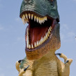 Stock Photo: Smile of dinosaur