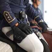 Police on Horseback — Stock Photo