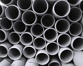 Large Plastic Pipes — Stock Photo