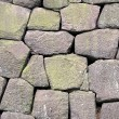 Massive Stone Wall - Stock Photo