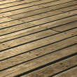 Royalty-Free Stock Photo: Wooden Deck