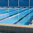 Athletics Swimming Pool — Stock Photo #1078062