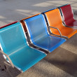 Colorful Modern Bench — Stock Photo #1079017