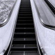 Royalty-Free Stock Photo: Long Escalator
