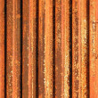 Rusty Corrugated Iron — Stock Photo
