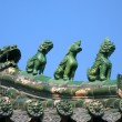 Chinese Temple Roof Detail — Stock Photo