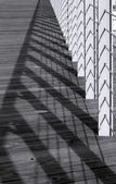 Fence and Shadows — Stock Photo