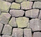 Masywne kamienne ściany — Zdjęcie stockowe