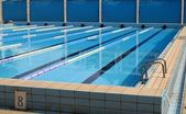 Athletics Swimming Pool — Stock Photo