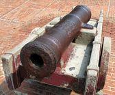 Ancient Bronze Cannon — Stock Photo