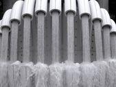 Fontana moderna — Foto Stock