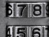 Number Lock — Stock Photo