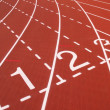 Royalty-Free Stock Photo: Athletic Track Markings