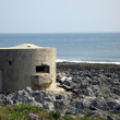 Royalty-Free Stock Photo: Bunker by the Sea