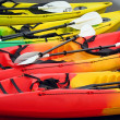 Colorful Canoes — Stock Photo #1146452