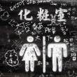 Chinese Graffiti — Stock Photo