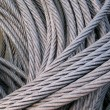 Stock Photo: Strong Wire Rope