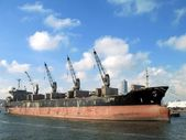 Industrial Ship — Stock Photo