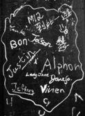 Graffiti Writing — Stockfoto