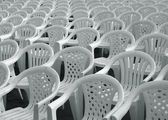 Sea of Chairs — Stock Photo