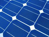 Solar Panels Macro — Stock Photo