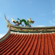 Decorated Temple Roof — Stock Photo #1213692