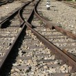 Old Railroad Tracks - Stock Photo