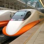 High Speed Train Engine — Stock Photo #1215977