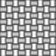 Woven Steel Pattern — Stock Photo