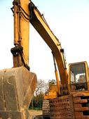 Backhoe Construction Equipment — Stock Photo