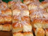 Fresh Bread Buns — Stock Photo