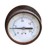 Old Pressure Gauge — Stock Photo