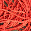 Stock Photo: Red Ropes