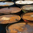 Stock Photo: Rusty Barrels