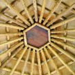 wooden ceiling — Stock Photo
