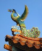 Decorated Temple Roof — Stock Photo