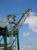 Large Container Crane — Stock Photo