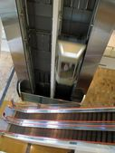 Escalator and Elevator — Stock Photo