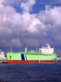 Large Oil-tanker — Stock Photo