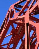 Iron Bridge Detail — Stock Photo