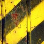 Black and Yellow Grunge Background — Stock Photo