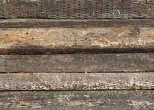 Old Railroad Ties — Stock Photo