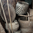Stock Photo: Old Chinese Farm Tools