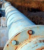 Old Oil Pipeline — Stock Photo