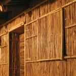 Native Bamboo Hut — Stock Photo