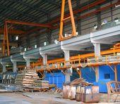Factory Interior — Stock Photo