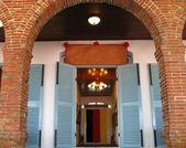 Ingresso edificio storico — Foto Stock
